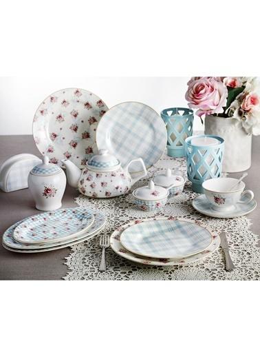 Pierre Cardin Camellia Kahvaltı Seti Mavi
